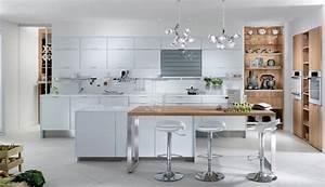 Les Plus Belles Cuisines : en photos les plus belles cuisines blanches la cuisine ~ Voncanada.com Idées de Décoration