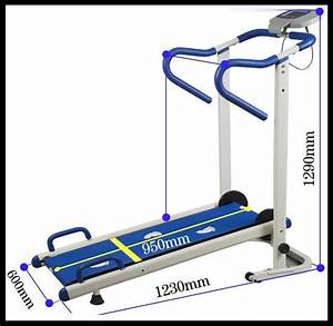 China Manual Treadmill  Tr1007