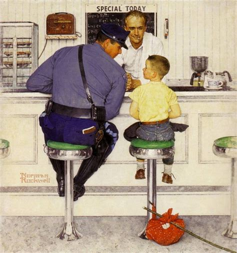Looking At Art With Kids Norman Rockwell Tinkerlab