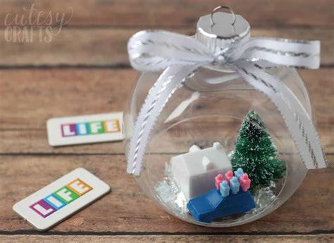 diy christmas tree ornaments game  life diy candy