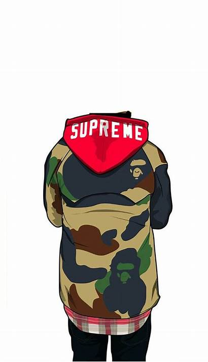 Dope Supreme Wallpapers Cartoon Drawings Iphone Trill