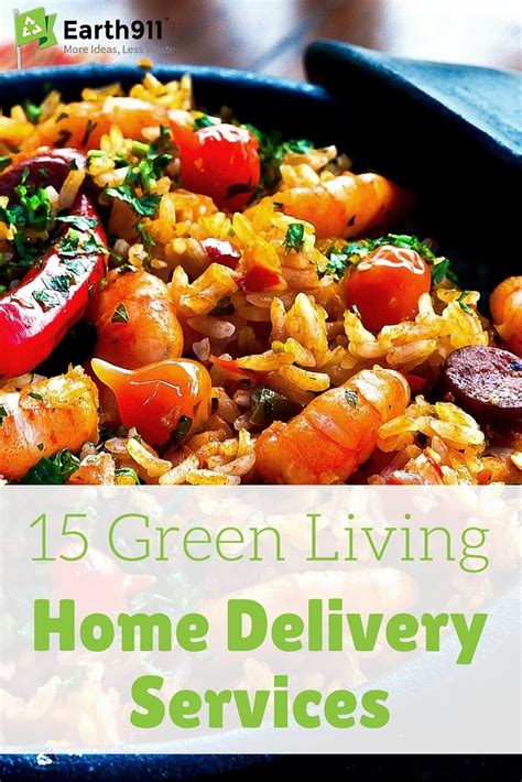 green living home delivery services recipes food