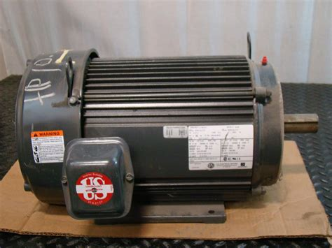 Us Electric Motors by Us Motors 10hp Electric Motor 208 230 460v 3 216 1760rpm Ae48