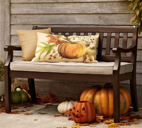 outdoor bench spruced   fall pictures
