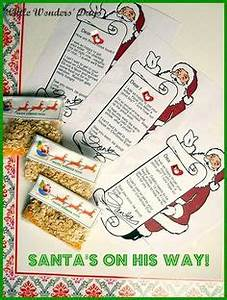 1000 images about santa on pinterest letter from santa With letters from santa claus with reindeer food