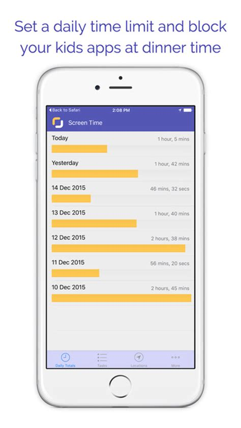 parental app for iphone screen time parental app voor iphone en