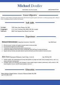 Resume format 2016 12 free to download word templates for Latest professional resume format