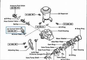 mysterious power steering leak yotatech forums With toyota rack and pinion diagram on 94 toyota 4x4 steering and