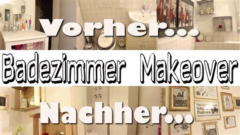 Badezimmer Makeover