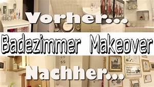 Altes Bad Aufpeppen : badezimmer makeover aus alt mach neu diy youtube ~ Lizthompson.info Haus und Dekorationen