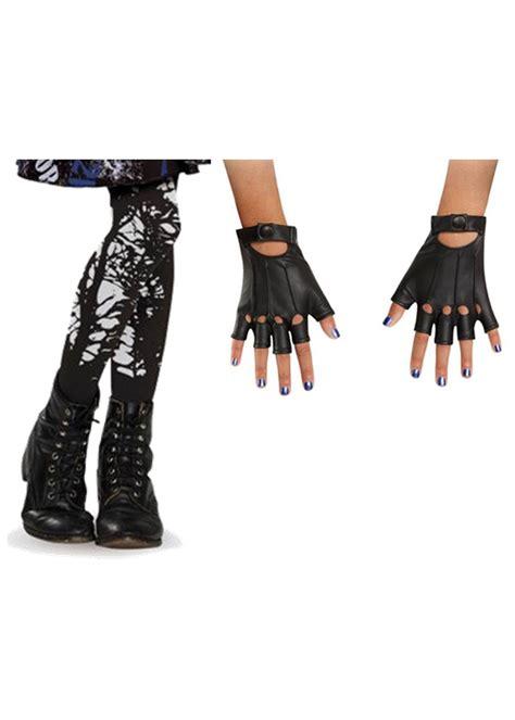 descendants evie girls gloves  stockings set accessories
