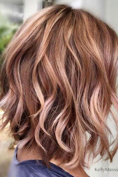 short rose gold blonde hairstyles   blonde