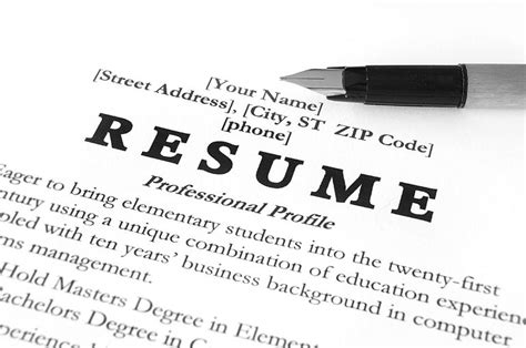 resume profile exles for many openings