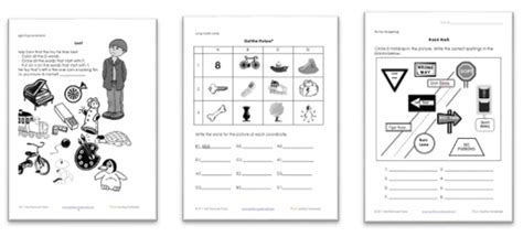 st grade reading worksheets