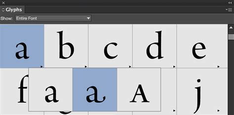 the hidden glyphs in your fonts journal typography guru