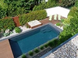 Gartengestaltung Mit Pool : hausgarten mit naturpool modern pools frankfurt am ~ A.2002-acura-tl-radio.info Haus und Dekorationen