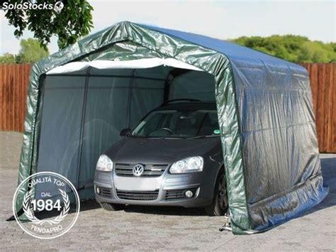 Garage Mobile Per Auto by 3 30x4 80 M Tendone Garage Box Auto Mobile Pe Bianco Verde