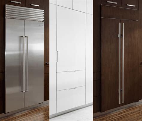thermador  ge monogram integrated refrigerator columns reviews ratings prices