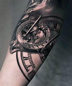 80 Clock Tattoo Designs For Men - Timeless Ink Ideas