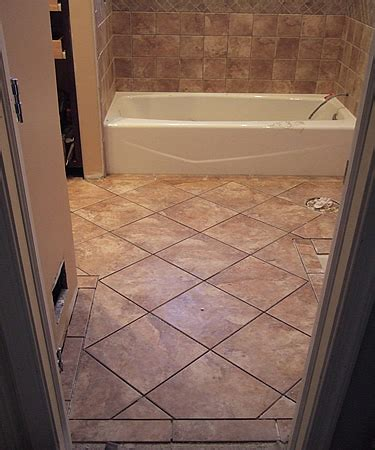 new bathroom tile question of staggered for floor wall