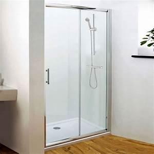 Porte de douche coulissante 120x185cm eur306 hudson reed fr for Porte d entrée alu avec joint pour lavabo salle de bain