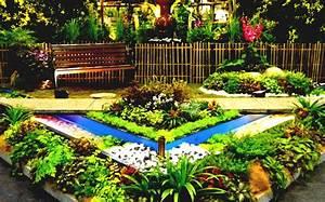 Flower Garden Ideas Beginners For Backyard
