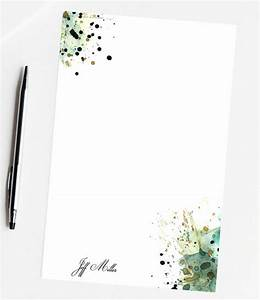 paper goods custom stationery paper stationary letter With personalized letter writing stationery