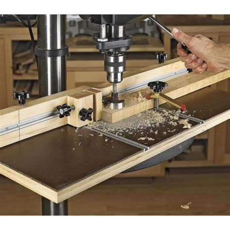 feature packed drill press table wood magazine