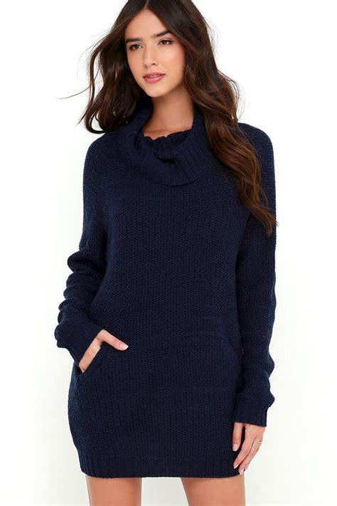 navy sweater dress navy blue dress sweater dress sleeve dress 69 00