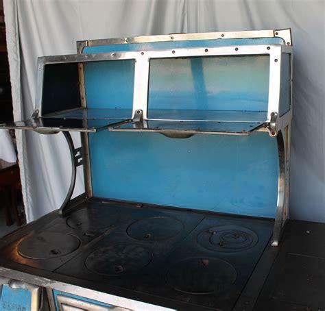 bargain johns antiques sanico american range blue