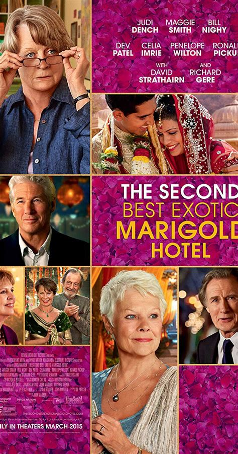 Best Marigold Hotel 2 by The Second Best Marigold Hotel 2015 Imdb