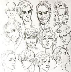 Cartoon Face Drawing Reference