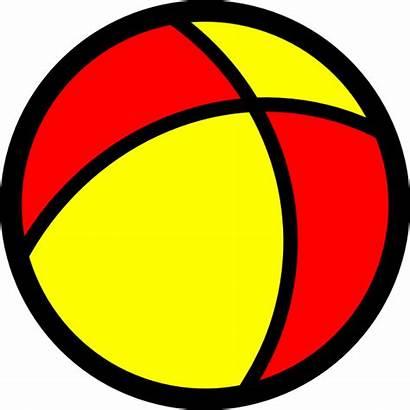 Ball Clip Clipart Beach Vector Balls Icon