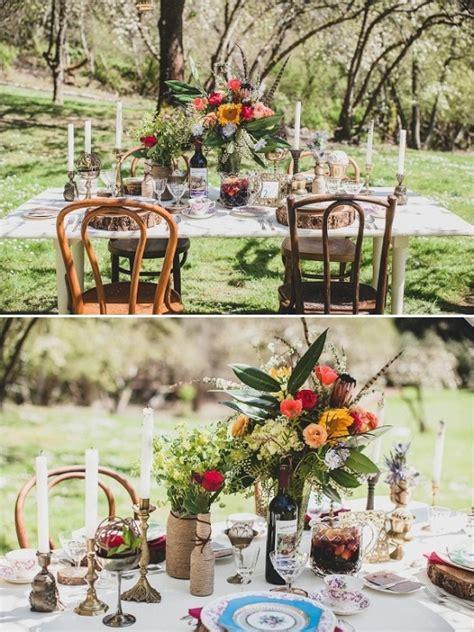 diy vintage boho chic wedding ideas