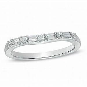 14 CT TW Baguette And Round Diamond Alternating