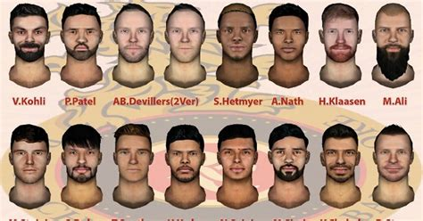 Yes, the above line is true. Royal Challengers Bangalore 2019 Facepack for EA Sports ...