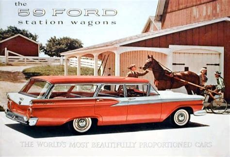 ford usa 1959 country sedan 4door station wagon the 1959 ford station wagon matthew 39 s island of misfit toys