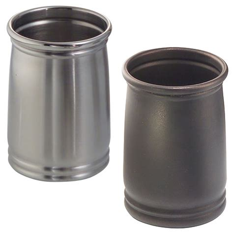 bathroom tumbler used for cameo metal bathroom tumbler stainless steel in vanity
