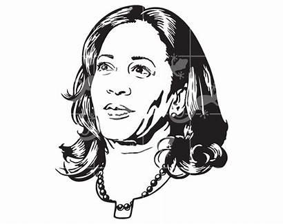 Kamala Harris Svg Senator California Friend