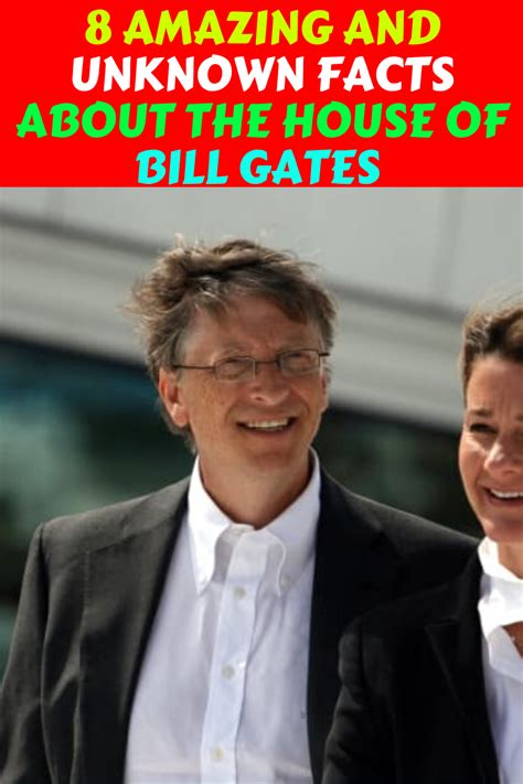 8 Amazing and unknown facts about the house of Bill Gates ...