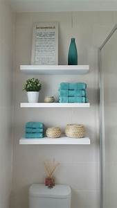 Bathroom shelving ideas over toilet bathroom for 5 bathroom storage over toilet ideas