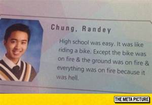 Funny Quotes High School Yearbook