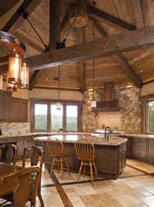 17 best ideas about cabin kitchens on pinterest log cabin kitchens log home kitchens and
