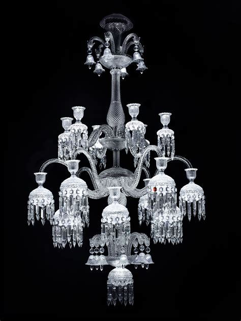 Baccarat Chandelier by Report From The Opening Of The Exhibition Chandeliers