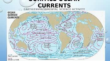 earthenvironmental science activity surface ocean