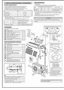 Mitsubishi Msz Gb50va Muz Gb50va Wall Air Conditioner Installation Manual