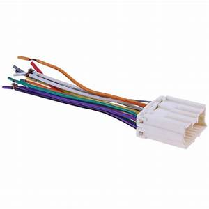 Car Stereo Cd Player Wiring Harness Radio Wire Plug For