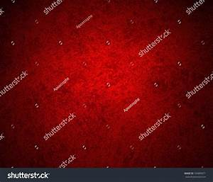 Abstract Red Background With Old Black Vintage Grunge ...