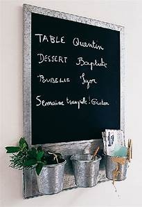 Tableau Pour Cuisine : d coration cuisine tableau noir ~ Teatrodelosmanantiales.com Idées de Décoration