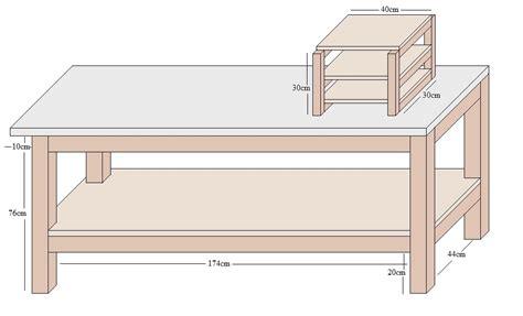 werkbank holz selber bauen tisch selber bauen mit beleuchtung 187 www selber bauen de
